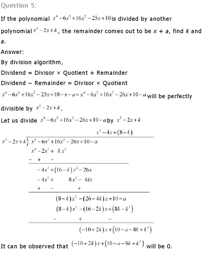 NCERT Solutions for Class 10th Maths Chapter1 6