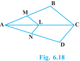 Triangles Exercise 6.2 Question No. 3