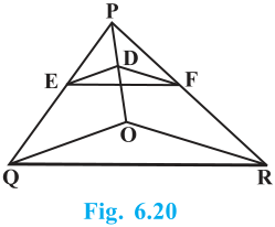 Triangles Exercise 6.2 Question No. 5