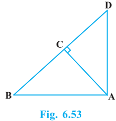 Triangles Exercise 6.5 Question No. 3
