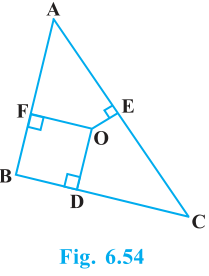 Triangles Exercise 6.5 Question No. 8