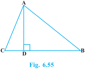 Triangles Exercise 6.5 Question No. 14